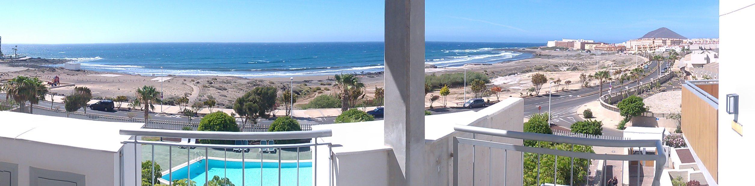 Duplex appartement in El Medano Tenerife te huur